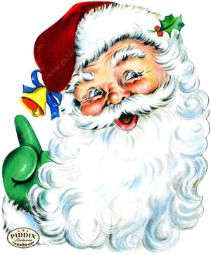 Pdxc16055 -- Santa Claus Color Illustration