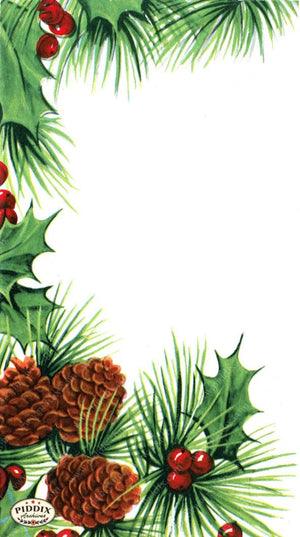 Pdxc16056A -- Christmas Greens Color Illustration