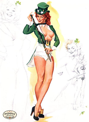 Pdxc16086 -- Pin-Ups Color Illustration