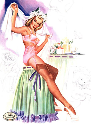 Pdxc16089 -- Pin-Ups Color Illustration