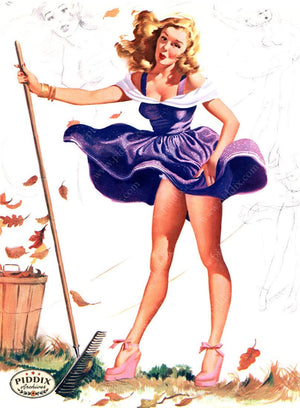 Pdxc16092 -- Pin-Ups Color Illustration