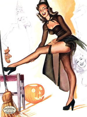 Pdxc16093 -- Pin-Ups Color Illustration