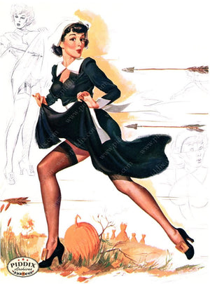 Pdxc16094 -- Pin-Ups Color Illustration
