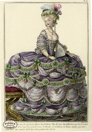Pdxc1611 -- French Fashion Color Illustration