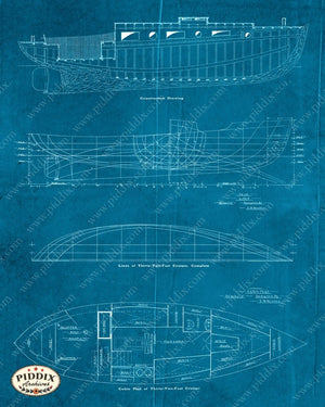 Pdxc16528C -- Blueprints Original Collage