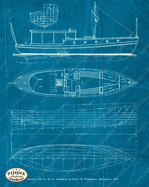 Pdxc16530B -- Blueprints Original Collage