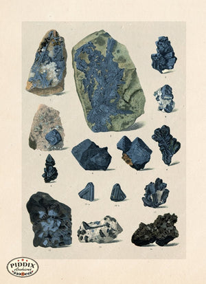 Pdxc16534 -- Blue Rocks Color Illustration