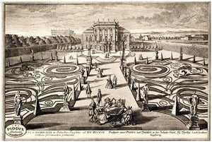 Pdxc1672 -- Garden Engravings Black & White Engraving