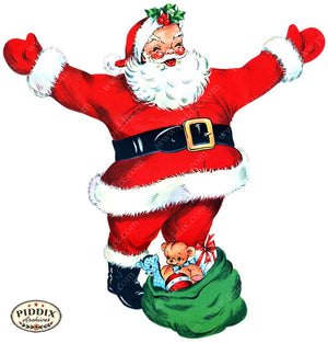 Pdxc17027A -- Santa Claus Color Illustration