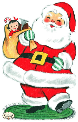 Pdxc17044 -- Santa Claus Color Illustration