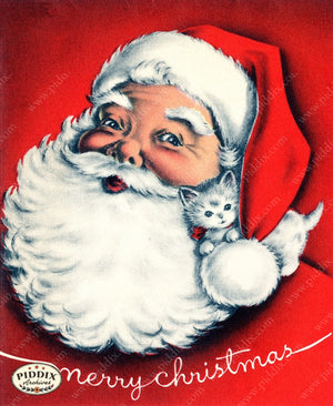 PDXC17045-- Santa Claus Color Illustration