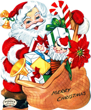 Pdxc17046A -- Santa Claus Color Illustration