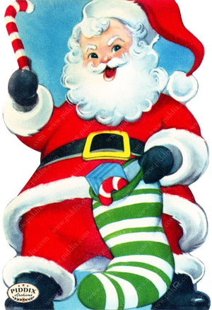 Pdxc17048 -- Santa Claus Color Illustration