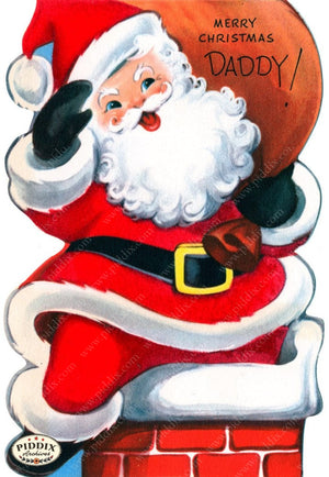 Pdxc17049 -- Santa Claus Color Illustration