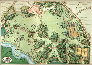 Pdxc1710 -- Garden Maps Color Illustration
