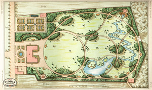 Pdxc1711 -- Garden Maps Color Illustration