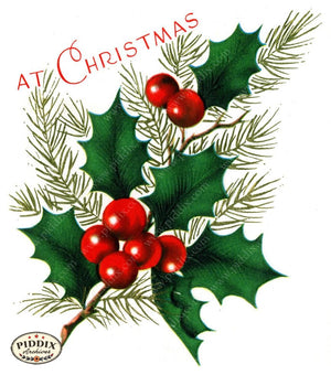 Pdxc17289A & B -- Christmas Greens Color Illustration