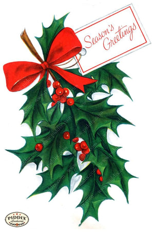 Pdxc17299A -- Christmas Greens Color Illustration