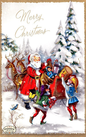 Pdxc17306 -- Santa Claus Color Illustration