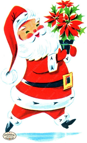 PDXC17340 -- Santa Claus Color Illustration