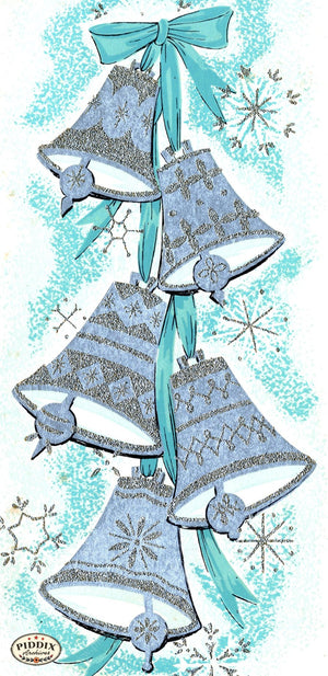 Pdxc17347 -- Christmas Bells Color Illustration