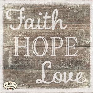 Pdxc18285 -- Faith Hope Love Original Art