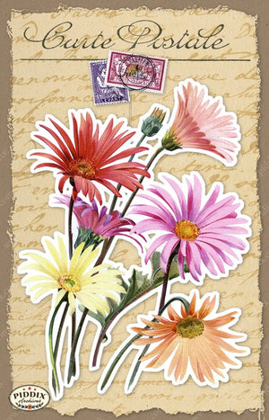 Pdxc18486 -- French Florals Original Collage