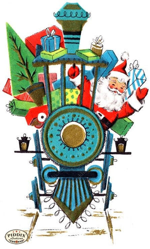 Pdxc18649A -- Santa Claus Color Illustration