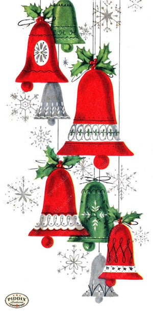 Pdxc18655 -- Christmas Bells Color Illustration