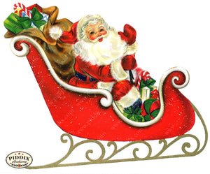 Pdxc18679A -- Santa Claus Color Illustration