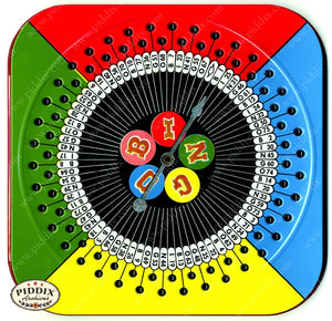 Pdxc18866A -- Bingo Spinner Color Illustration
