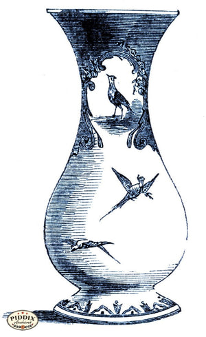 Pdxc18896B -- Chinoiserie Vases Color Illustration