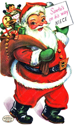 Pdxc18906A -- Santa Claus Color Illustration