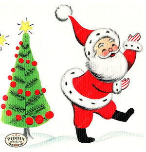 PDXC18910c -- Santa Claus Color Illustration