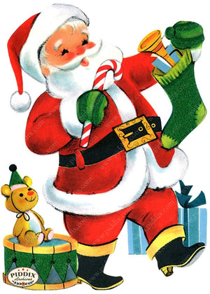 PDXC18921a -- Santa Claus Color Illustration