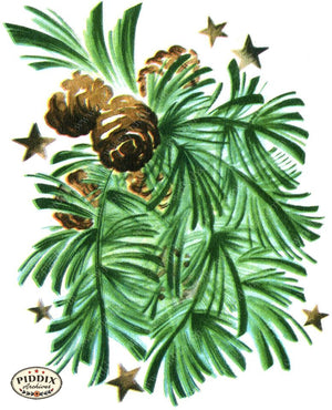 PDXC18926a -- Christmas Greens Color Illustration