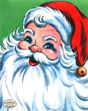 Pdxc18932A -- Santa Claus Color Illustration