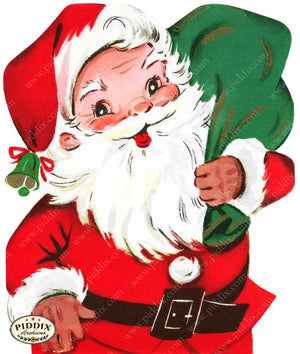 Pdxc18942A -- Santa Claus Color Illustration