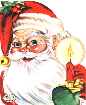 Pdxc18943A -- Santa Claus Color Illustration