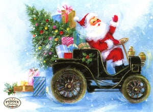 Pdxc18950A -- Santa Claus Color Illustration