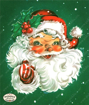 Pdxc18957A -- Santa Claus Color Illustration