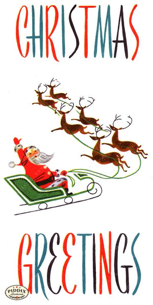 Pdxc18958A -- Santa Claus Color Illustration