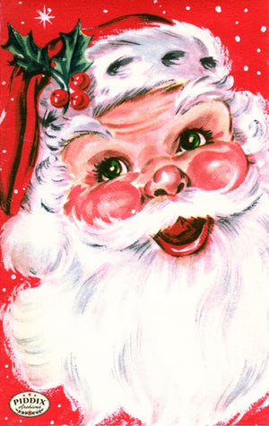 Pdxc18962A -- Santa Claus Color Illustration