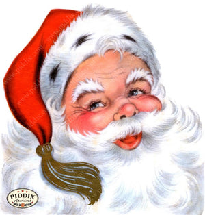 Pdxc18971A -- Santa Claus Color Illustration