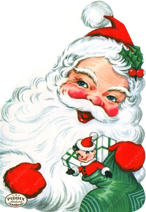 Pdxc18972A -- Santa Claus Color Illustration
