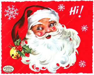 Pdxc18981A -- Santa Claus Color Illustration