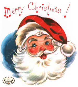 Pdxc18982A -- Santa Claus Color Illustration