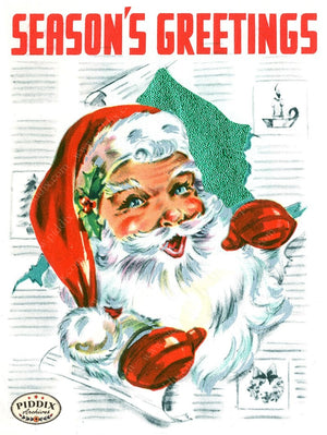 PDXC18983a-- Santa Claus Color Illustration