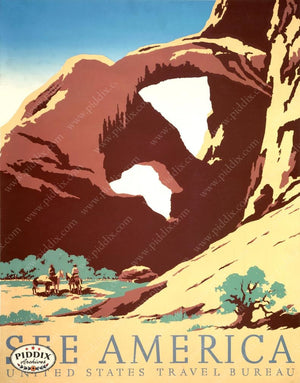 Pdxc18987 -- Vintage Travel Posters Poster