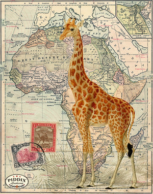 PDXC19059 -- Africa Original Collage